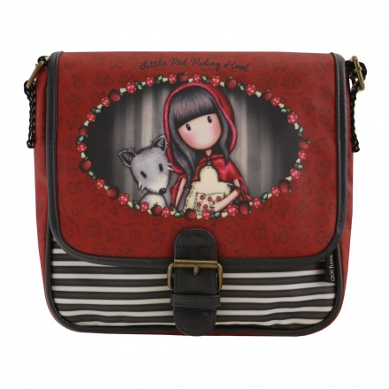 e021c7f6eca Gorjuss Santoro - Coated Saddle Bag - Little Red Riding Hood - One ...